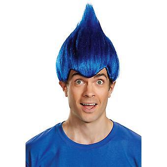 شعر مستعار أحمق أزرق داكن
