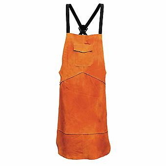 sUw - Leather Welding Apron Tan Regular