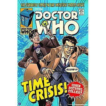 Poster - Studio B - Dr Who - Time Crisis Wall Art P5606