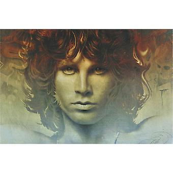 Poster - Studio B - 24x36 Spirit of Jim Morrison Wall Art CJ2295