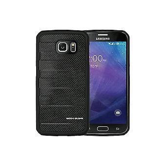 Body Glove Rise Case pour Samsung Galaxy S6 - Black Carbon Fiber
