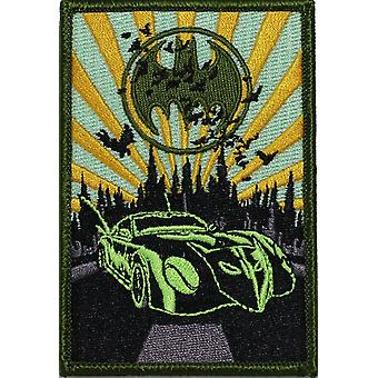 Patch - DC Comic - Batman - Batmobile Iron On Gifts Toys New p-dc-0080
