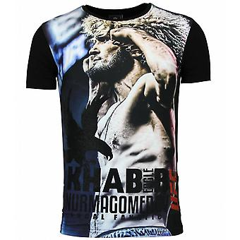 The Eagle Nurmagomedov-Men's UFC Khabib T-shirt men-Black