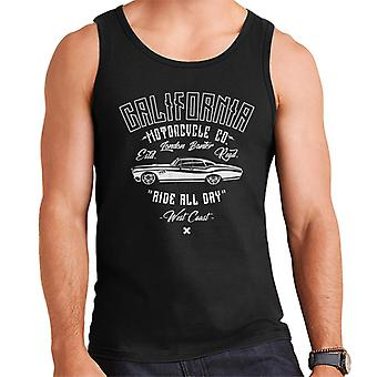 London Banter California Motorcycle Co Men's Vest
