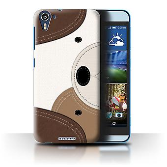 STUFF4 Case/Cover for HTC Desire 826/Dog/Animal Stitch Effect