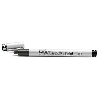 Copic Multiliner Sp Black Ink Marker 0.03 Tip Mlsp 003
