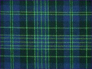 Clergy Green, Modern - Pure Wool Tartan