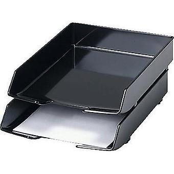 HAN 1028-13 Wave Exclusiv C4 Letter Tray (Black) HAN