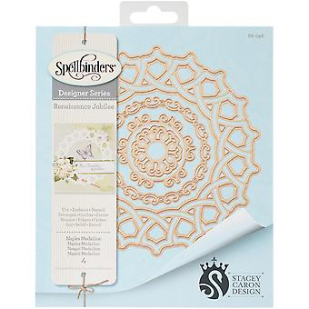 Spellbinders Shapeabilities Dies-Naples Medallion S6096
