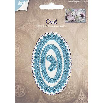Joy! Crafts Cut & Emboss Die-Oval Elegance JC20529