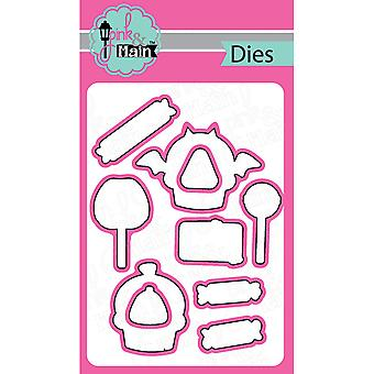 Pink And Main Dies-Sweet Halloween, 10/Pkg PNM042