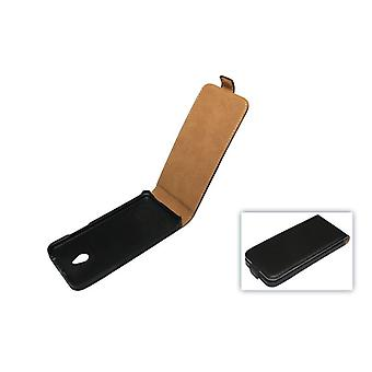 Mobile case bag (flip slim) HTC one mini M4 black