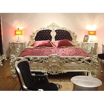 baroque bed  double bed  180x200 sleeping room antique style   Vp7701Q