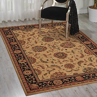 Living Treasure Rugs By Nourison Li04 In Ivory Black