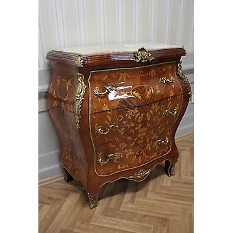 Commode baroque armoire Louis xv style antique MkKm0105Bg