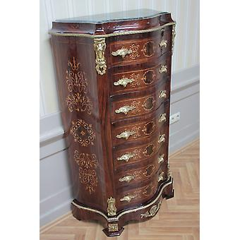 Commode baroque armoire Louis xv style antique MkSm0014Bg
