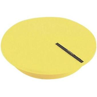 Cover + hand Yellow, Black Suitable for K12 rotary knob Cliff CL177811 1 pc(s)