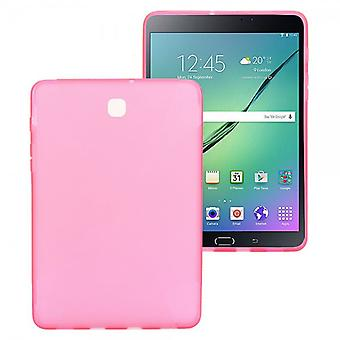 Silicone case rose pour Samsung Galaxy tab S2 8.0 T710 T715N