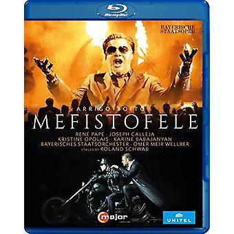 Arrigo Boito: Importar de EEUU Mefistofele [Blu-ray]