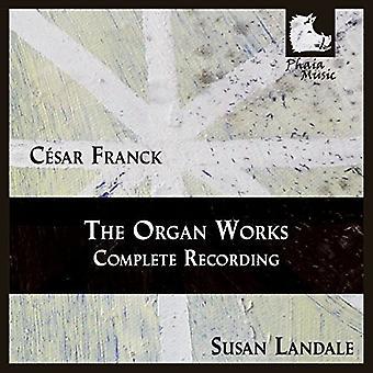 Franck/Susan Landale - orgel værker-Comp optagelser [CD] USA import
