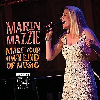 Marin Mazzie - lave din egen slags musik - Live på 54 nedenfor [CD] USA import