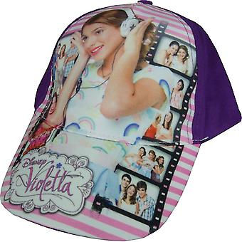 Girls Disney Violetta / Baseball Cap with Adjustable Back