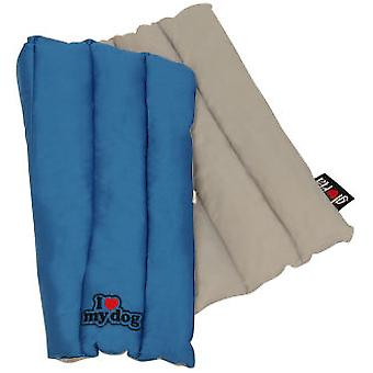 I Love My Dog Rolling mat Grey (Dogs , Bedding , Blankets and Mats)
