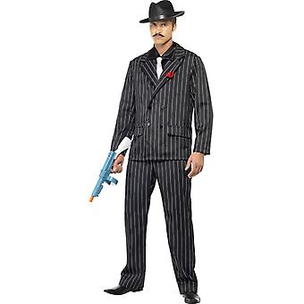 Mafia gangster suit mens costume