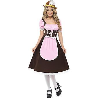 Oktoberfest Tracht Dirndl knee Tavern girl costume ladies