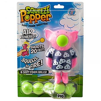 Cheatwell Games Pig Popper Soft Foam Shooter