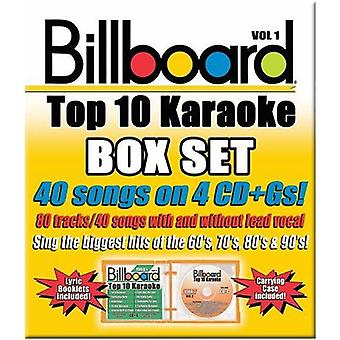 Billboard Top 40 Karaoke - Vol. 1-Billboard Top 40 Karaoke Box sæt [DVD] USA importerer