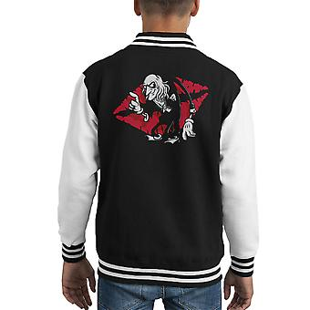 Rocky Horror Picture Show Riff Raff Kid's Varsity Jacket
