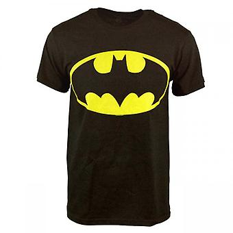 Batman Mens Reversible I'm Batman T Shirt Black
