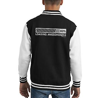 Laden van Kid's Varsity Jacket