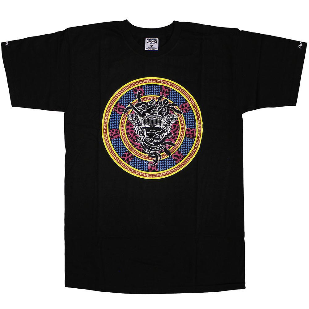 Gauner & Burgen T-Shirt Medusa Exquisit schwarz
