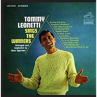Tommy Leonetti - Sings the Winners [CD] USA import