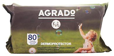 Agrado WIPES Tragoncete 80 Units (Childhood , Diaper and changers , Wipes)
