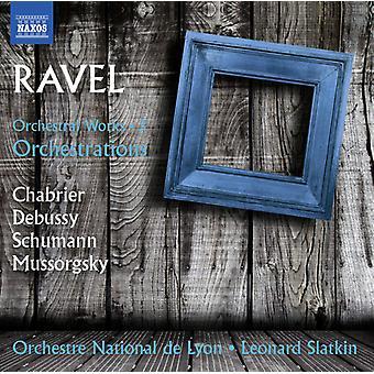 Ravel / Slatkin, Leonard - orkesterverker: Ravel arrangementene 3 [DVD] USA import