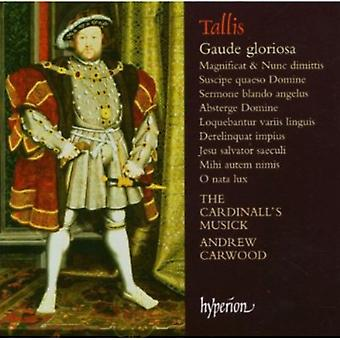 T. tallis - Tallis: Gaude Gloriosa [CD] USA import