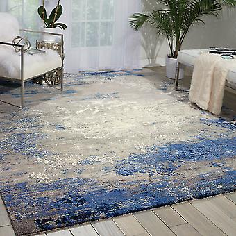 Nourison Twilight Rugs Twi22 By Nourison In Blue And Grey