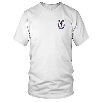 US Army - 182nd Infantry Regiment Embroidered Patch - Kids T Shirt