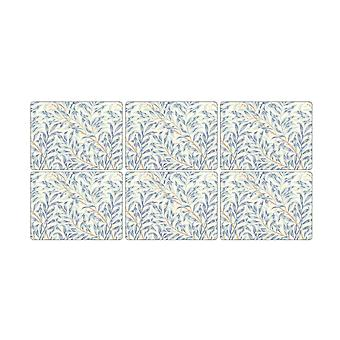 Pimpernel Willow Boughs Blue Placemats, Set of 6