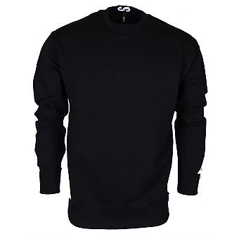 Versace Bu90500 Bj20643 Round Neck Black Sweat