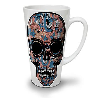 Cool Dead Hipster Skull NEW White Tea Coffee Ceramic Latte Mug 17 oz | Wellcoda