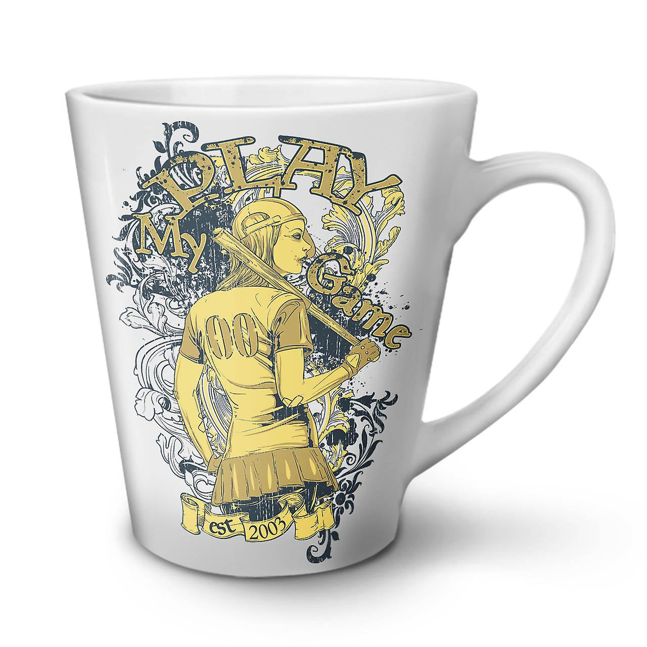Latte OzWellcoda Le Mug 12 Jouer Blanc Céramique Sport Café Baseball En Jeu De Nouveau Thé dorxBeEQCW