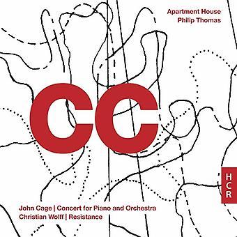Thomas * Philip / Apartment House - Cc: John Cage & Christian Wolff [CD] USA Import
