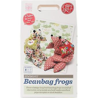 The Crafty Kit Co. Sewing Kit-Beanbag Frog SK-0202