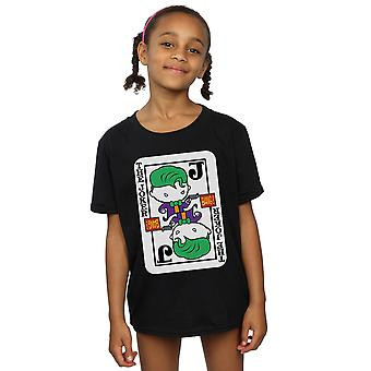 DC Comics Girls Chibi Joker Playing Card T-Shirt