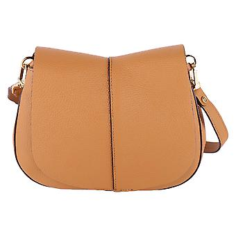 Gianni Chiarini women's BS603618PELOR9299 brown leather shoulder bag