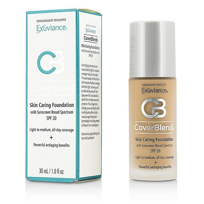 Exuviance CoverBlend Skin Caring Foundation SPF20 - # Honey Sand 30ml/1oz